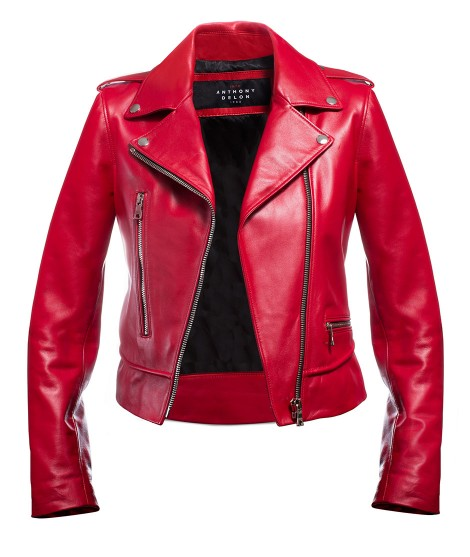 Women's jacket Red Perfecto...