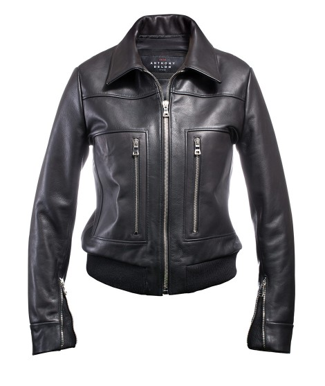 Women's jacket Black Pilot Liv