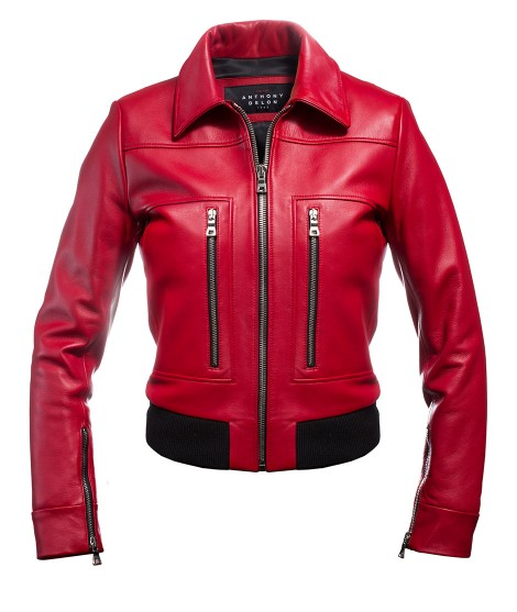 Women's jacket Red Pilot Liv